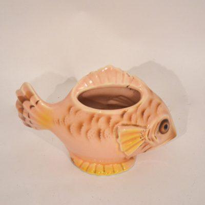 Vase céramique poisson