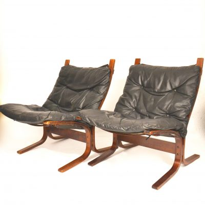 Paire de fauteuils norvégiens Siesta