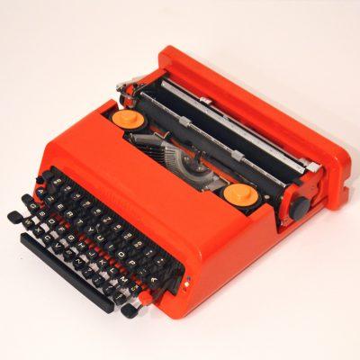 Machine à écrire Valentine d'Ettore Sottsass
