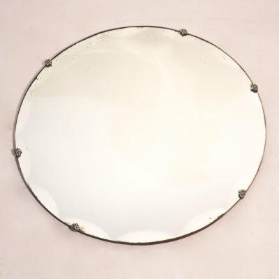 Miroir biseauté rond 50 cm