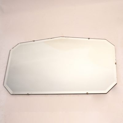 Miroir biseauté années 50