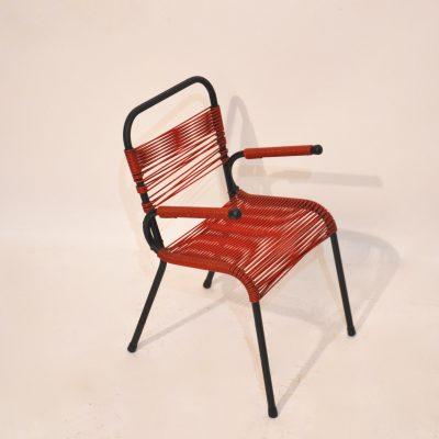 Mini fauteuil scoubidou pour enfant
