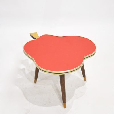 Petite table tripode Poire