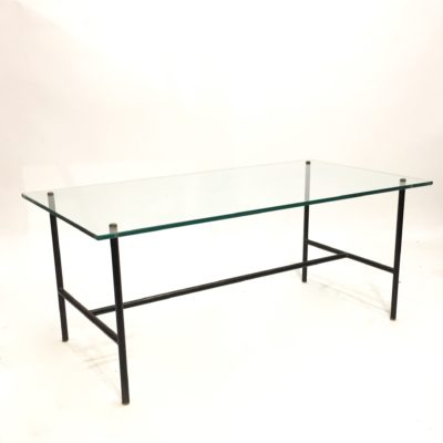Table basse moderniste en verre