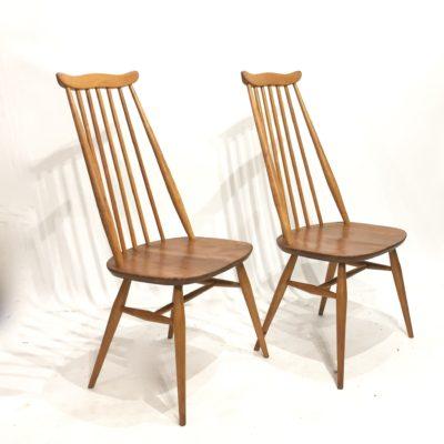 Paire de chaises Ercol