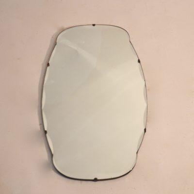 Petit miroir biseauté nuage