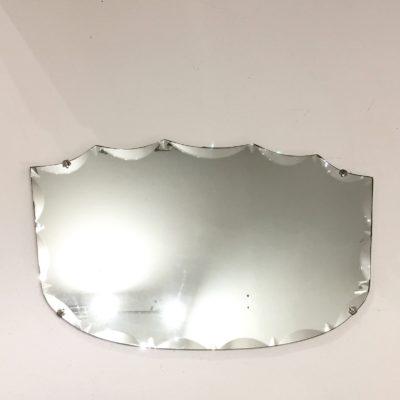 Miroir biseauté évasé