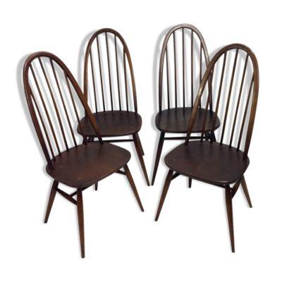 Paires de chaises Ercol