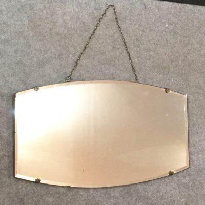 Miroir biseauté à chaînette