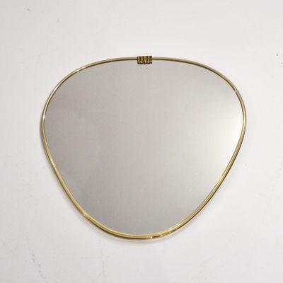 Miroir forme libre doré