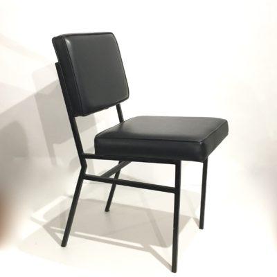 Chaise moderniste noire