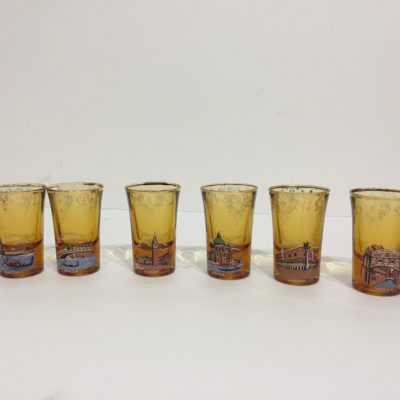 Série de petits verre «Venise»