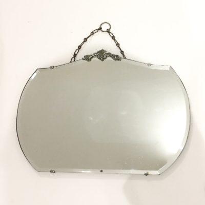 Petit miroir à fronton