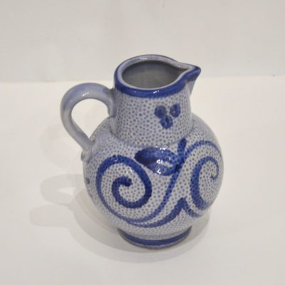 Carafe West Germany bleue