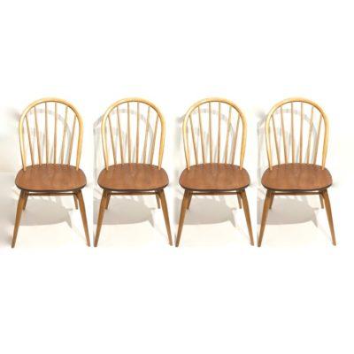 Série de 4 chaises Ercol Windsor