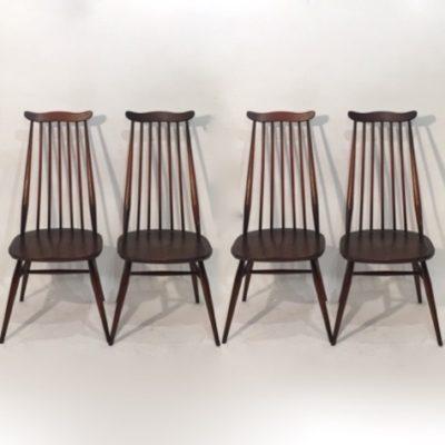 Série de 4 chaises Ercol Goldsmith