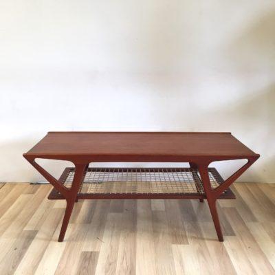 Grande table basse en teck