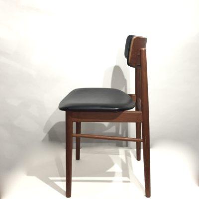 Série de 6 chaises danoises Sax