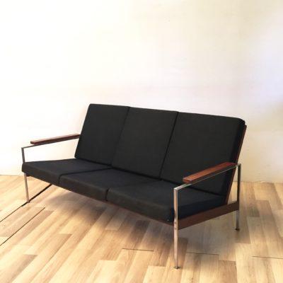 Canapé scandinave en palissandre