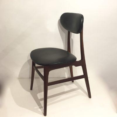 Chaise scandinave en teck