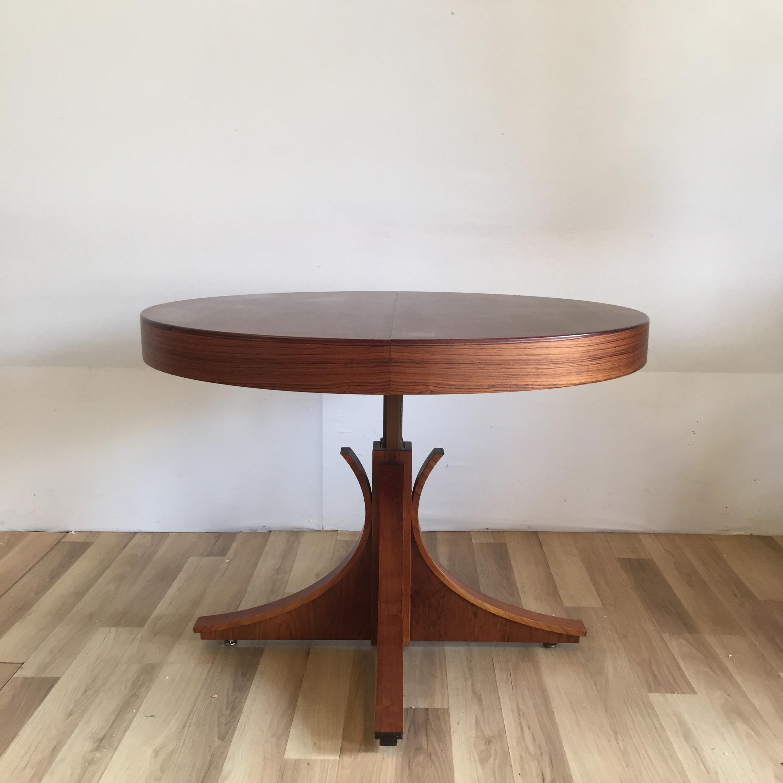 Table transformable en palissandre de Rio - BINDIESBINDIES