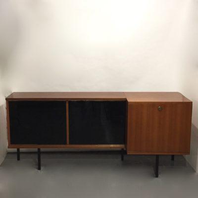 Enfilade moderniste en teck 180 cm