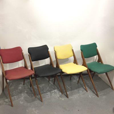 Série de 4 chaises G. Guermonprez