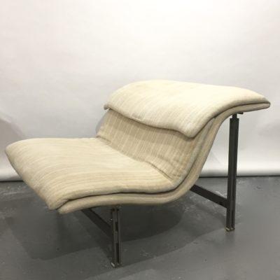 Paire de fauteuils Wave de G. OFFREDI pour Saporiti