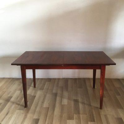 Table à manger danoise en palissandre