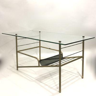 Table basse moderniste en verre
