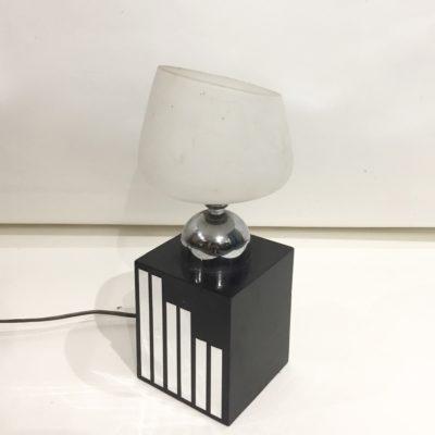 Lampe à poser opaline