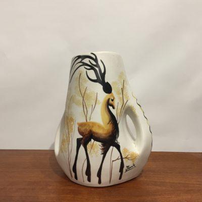 Vase cerf Vallauris