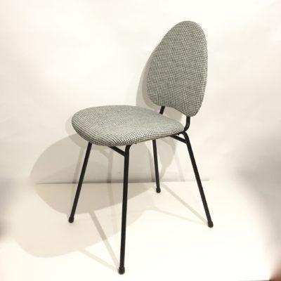 Série de 4 chaises Hitier pied de poule