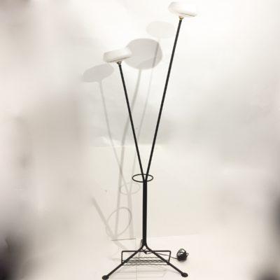 Lampadaire tripode à 2 coupes