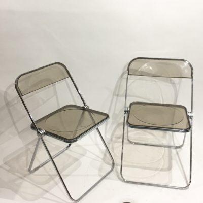 Paire de chaises Plia de Castelli
