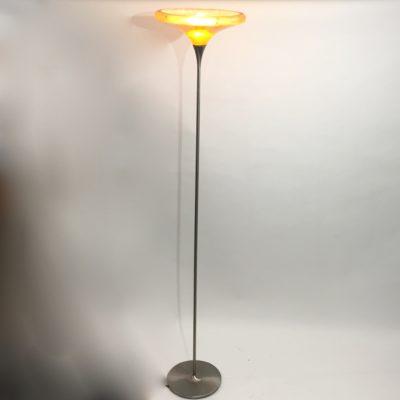 Lampadaire années 70 en fibre de verre